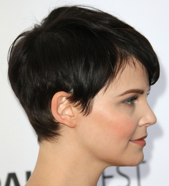 Side Side View of Pixie Cut - Ginnifer Goodwin Short Haircut