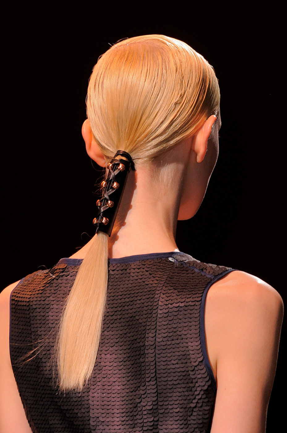 Cedric Charlier Segmented Spring Hairstyle