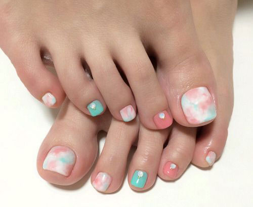 10 Spring Toe Nail Art Designs Ideas Trends Stickers 2015 8 10+ Spring Toe Nail Art Designs, Ideas, Trends & Stickers 2015