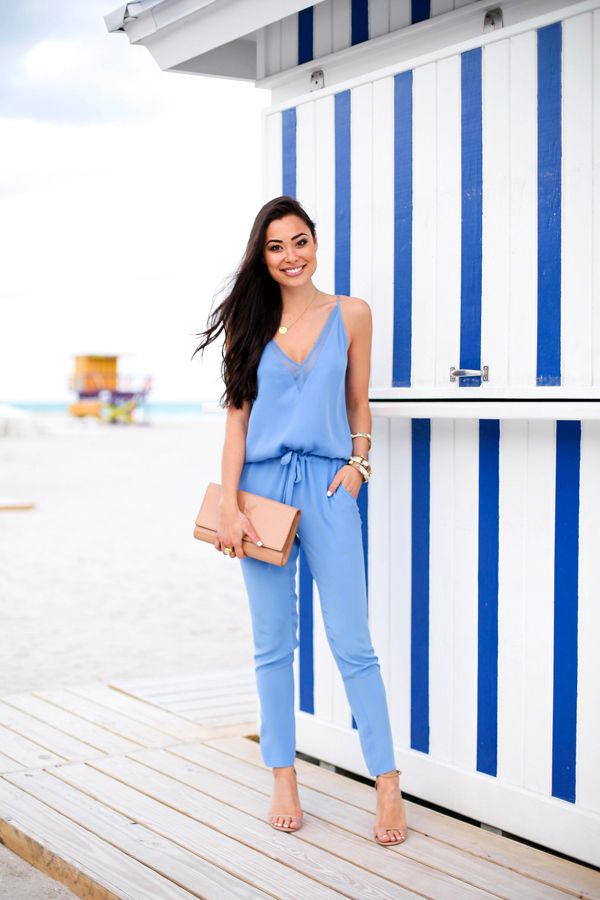 jumpsuit outfit What to Wear as Guest to A Spring Wedding