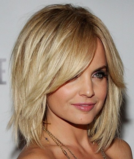 Layered Bob Haircut for Medium Hair