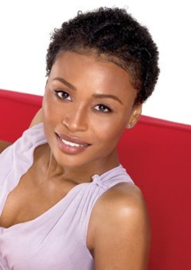 cute short natural black hairstyles