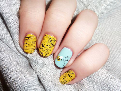 15 Easy Spring Nail Art Designs Ideas Trends Stickers 2015 6 15 Easy Spring Nail Art Designs, Ideas, Trends & Stickers 2015