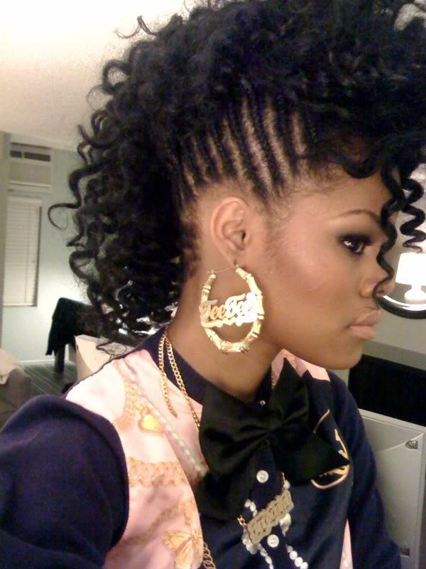 black women hairstyles for a wedding