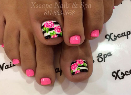 10 Spring Toe Nail Art Designs Ideas Trends Stickers 2015 10 10+ Spring Toe Nail Art Designs, Ideas, Trends & Stickers 2015