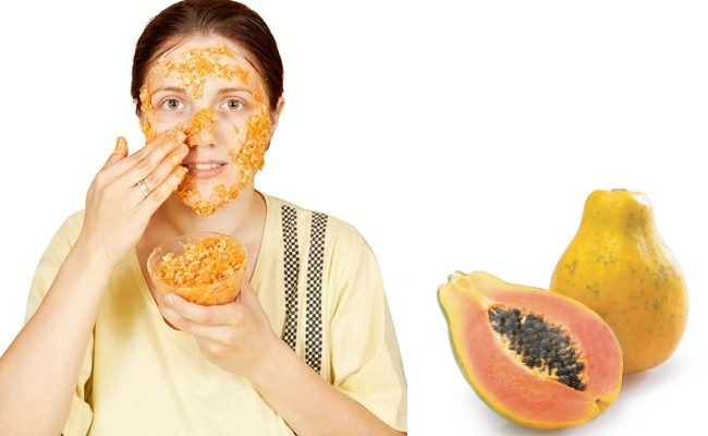 Prevent Sebum Buildup with Papaya