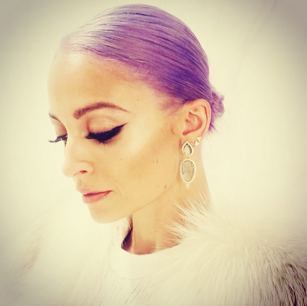 nicole-richie-purple-hair