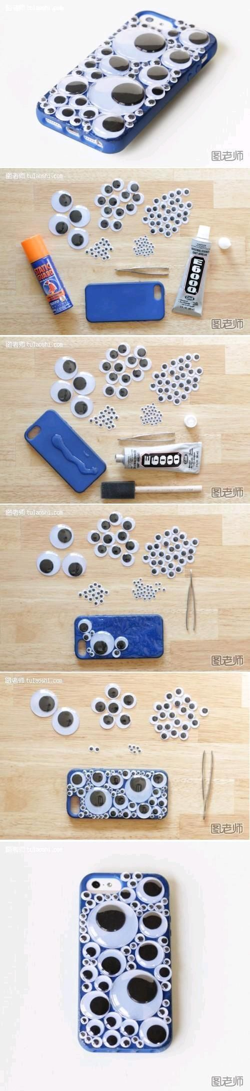 DIY Bubble Phone Case