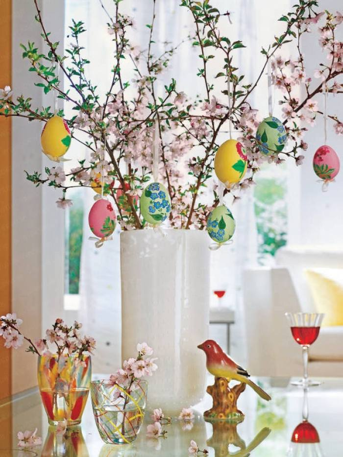Pretty Easter Egg Decoration