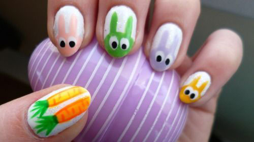 20 Easter Bunny Nail Art Designs Ideas Trends Stickers 2015 20 20 Easter Bunny Nail Art Designs, Ideas, Trends & Stickers 2015