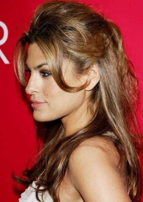 Best half up half down hairstyle_19