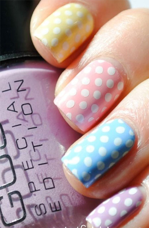 20 Simple Easy Cool Easter Nail Art Designs Ideas Trends Stickers 2015 5 20 Simple, Easy & Cool Easter Nail Art Designs, Ideas, Trends & Stickers 2015