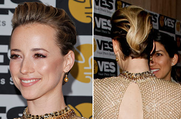 Karine Vanasse haircut