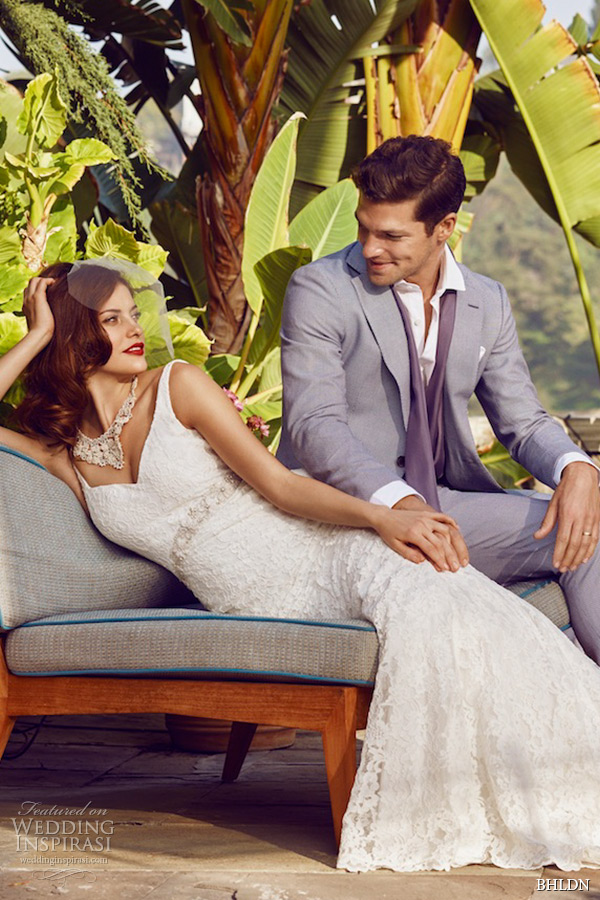bhldn bridalspring 2015 wedding dresses sleeveless v neckline drop waist modified a line ivory bridal gown janey day in the sun hollywood shoot