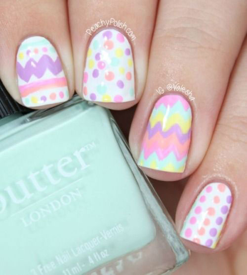 15 Easter Egg Nail Art Designs Ideas Trends Stickers 2015 16 15+ Easter Egg Nail Art Designs, Ideas, Trends & Stickers 2015