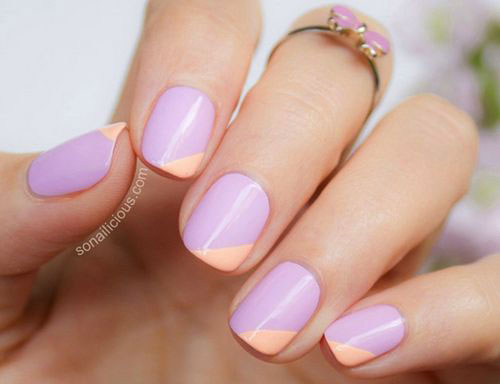 15 Easy Spring Nail Art Designs Ideas Trends Stickers 2015 8 15 Easy Spring Nail Art Designs, Ideas, Trends & Stickers 2015