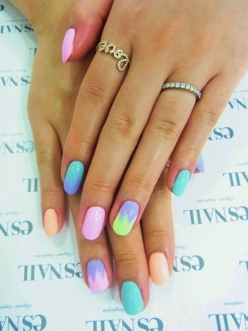 15 Easy Spring Nail Art Designs Ideas Trends Stickers 2015 3 15 Easy Spring Nail Art Designs, Ideas, Trends & Stickers 2015