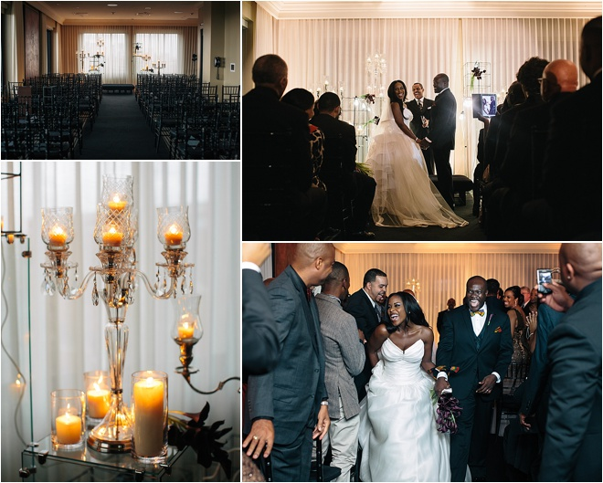 Modern Architecture Inspired Wedding at Hotel ZaZa by Akil Bennett Photography
