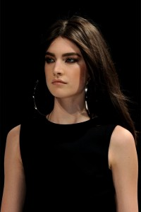 Jacquelyn Jablonski Straight Hairstyles with Dark Brown Hairs Color