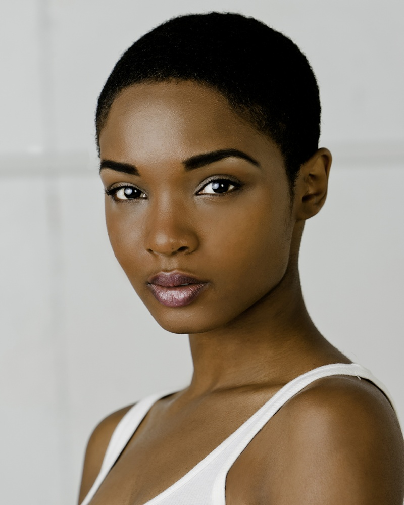 short natural black hairstyles pics