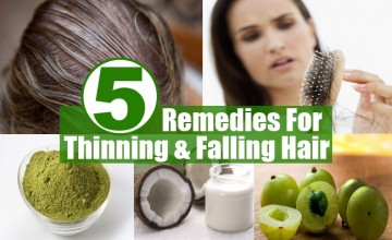 Remedies For Thinning And Falling Hair
