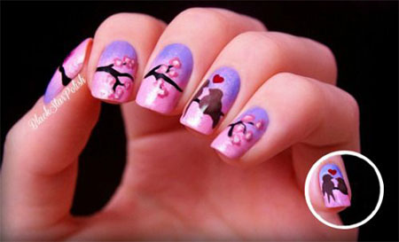 15 Cherry Blooms Spring Nail Art Designs, Ideas, Trends & Stickers ...