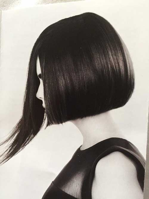Straight Asymmetric Dark Bob
