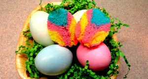 Rock This Easter With These Exquisite Tie-Dye Cupcakes Baked In Egg Shells!