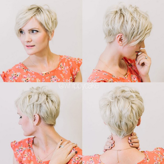 Short Layered Haircut for Blond Hair