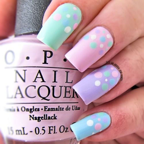 20 Simple Easy Cool Easter Nail Art Designs Ideas Trends Stickers 2015 6 20 Simple, Easy & Cool Easter Nail Art Designs, Ideas, Trends & Stickers 2015