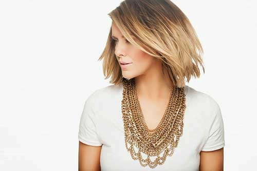 Courtney Kerr Ombre Bob Hairstyles