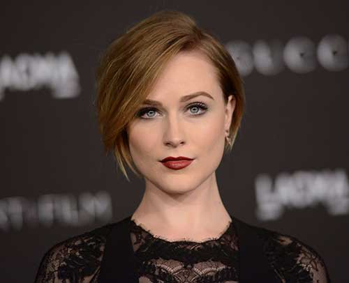 Evan Rachel Wood Short Bob Hairstyles