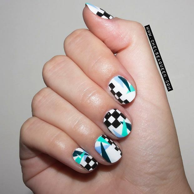 Cool Nail Design for Short Nails