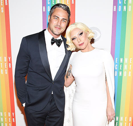 Taylor Kinney popped the question with a heart-shaped diamond to Lady Gaga during Valentine's Day 2015.