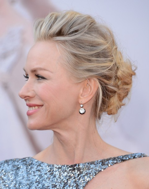 2014 Naomi Watts Hairstyles Updo Hairstyle Ideas for Prom