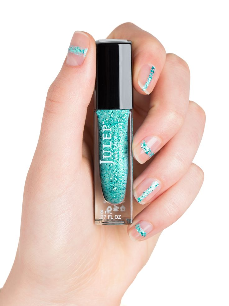 half mani style Fab Beauty Trends to Try for Spring and Summer