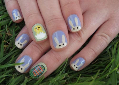 20 Easter Bunny Nail Art Designs Ideas Trends Stickers 2015 1 20 Easter Bunny Nail Art Designs, Ideas, Trends & Stickers 2015