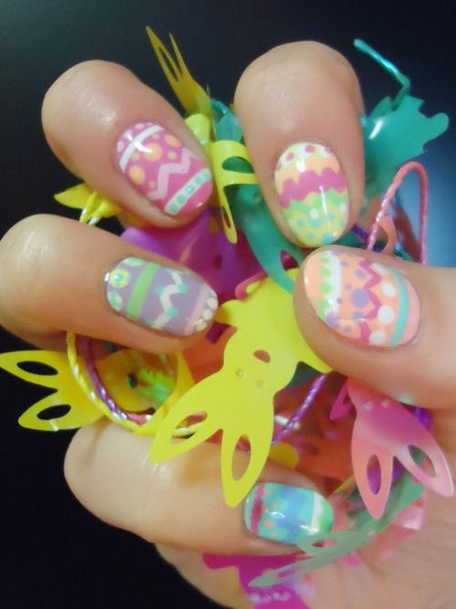 15 Easter Egg Nail Art Designs Ideas Trends Stickers 2015 4 15+ Easter Egg Nail Art Designs, Ideas, Trends & Stickers 2015