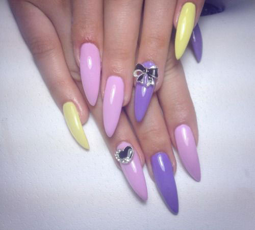 15 Easy Spring Nail Art Designs Ideas Trends Stickers 2015 4 15 Easy Spring Nail Art Designs, Ideas, Trends & Stickers 2015