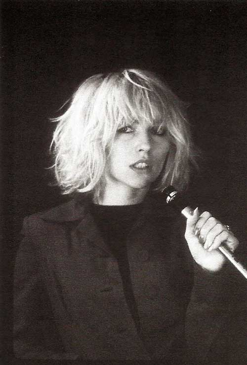 Debbie Harry Hairstyles 2015