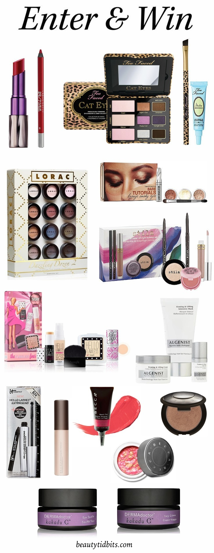 Ulta Beauty Prize pack Giveaway