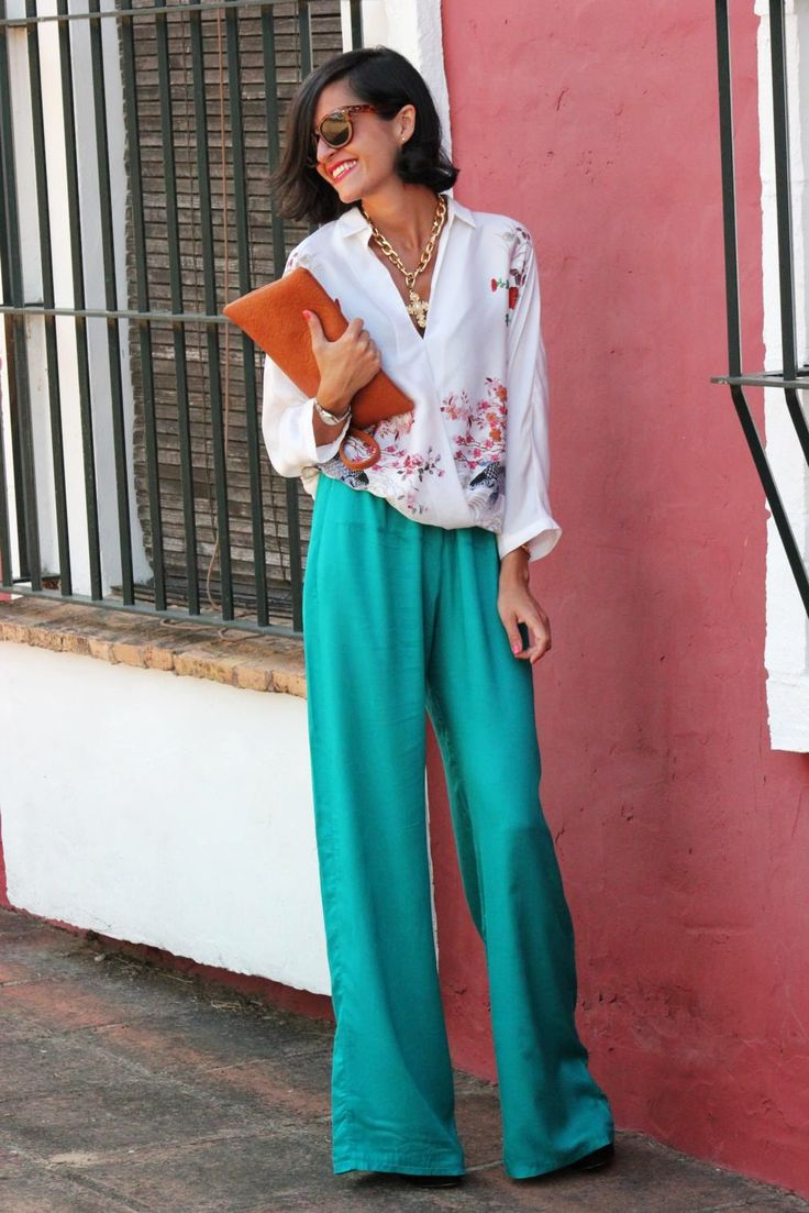 beach outfit palazzo pants What to Wear as Guest to A Spring Wedding