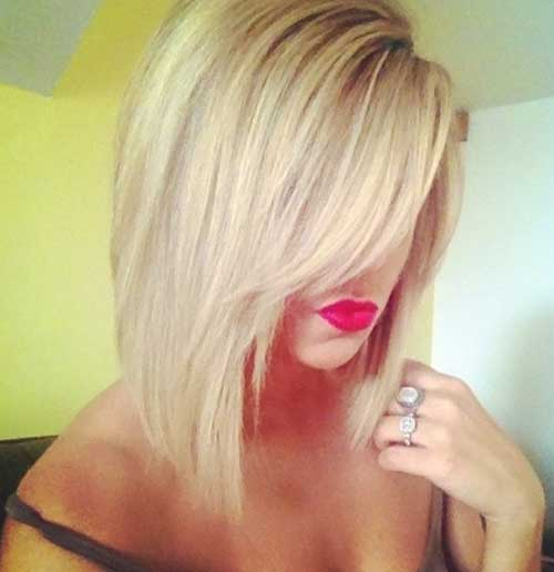 Super Stacked Bob Easy Short Haircuts
