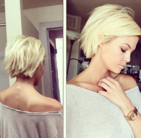 Short Choppy Bob Haircut