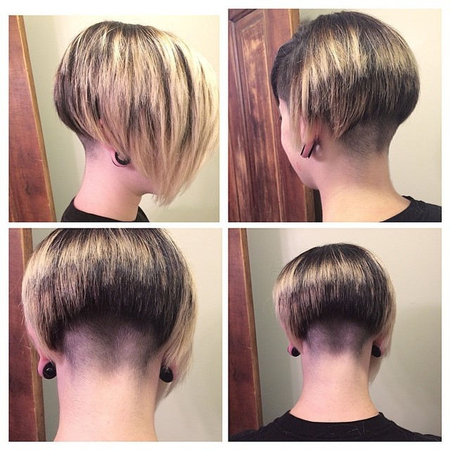 Short Hairstyle with Long Bangs