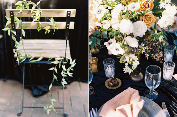 garden wedding ideas - photo by Adam Barnes http://ruffledblog.com/organic-greenhouse-wedding-inspiration