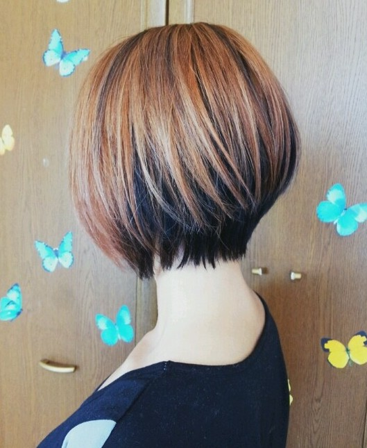 Highlighted Bob with Long Layers