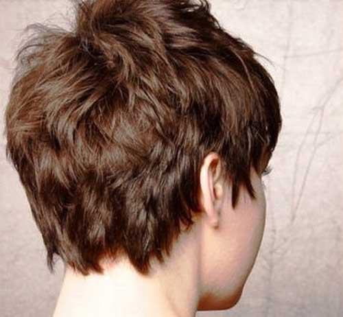 Short Wedge Fine Haircut