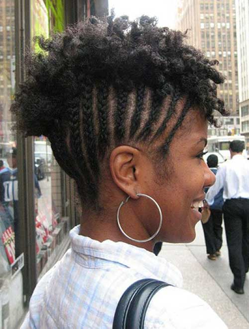 Natural Hair Mohawk Hairstyles