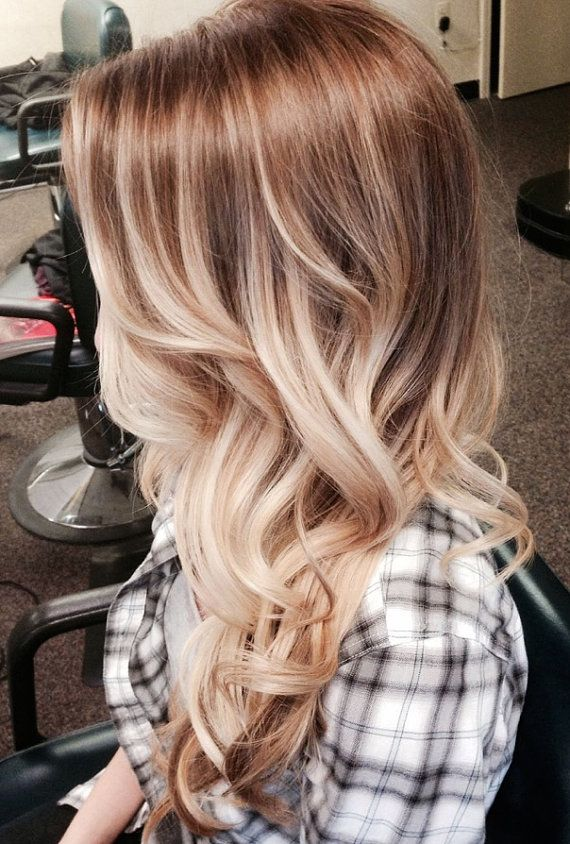 Bohemian Blonde Ombre Style
